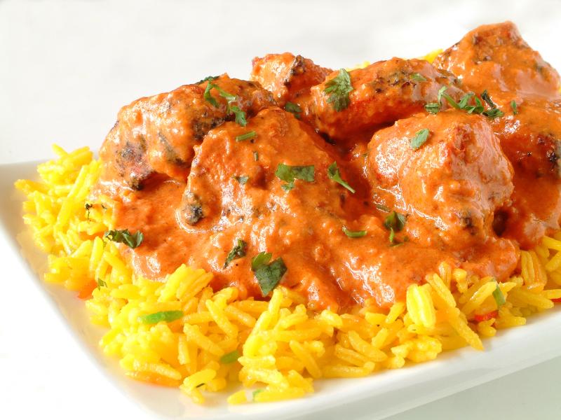 Takeaway gills indian cuisine - Herve cuisine butter chicken ...